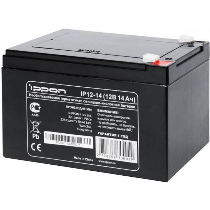 Батарея Ippon IP12-14 12V/14Ah