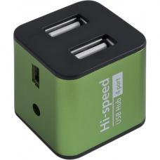 Разветвитель USB DEFENDER QUADRO USB2.0, 4 порта, алюминий