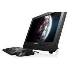 "Моноблок Lenovo S20-00 19.5"" HD+ CelDC J1800/2Gb/500Gb/DVDRW/MCR/DOS/WiFi/black 1600*900/Web/клавиат"