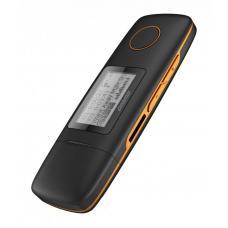 Плеер Digma U3 direct USB 4Gb, черный/оранжевый