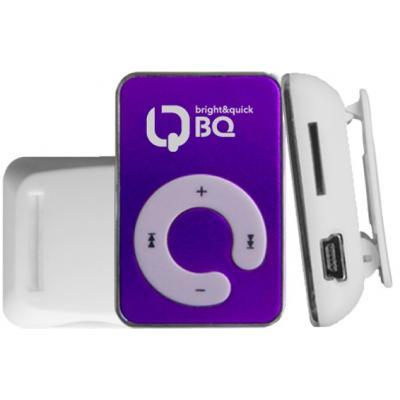 Портативный плеер BQ-P004 Fa, фиолетовый