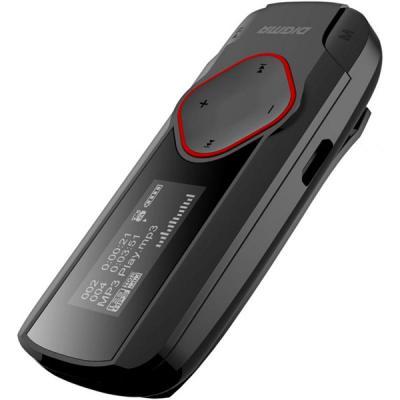 Портативный плеер Digma R2 8Gb, черный/красный