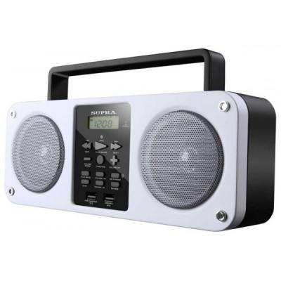 Аудиомагнитола SUPRA BB-M102UB белый