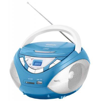 Магнитола BBK BX108U,  голубой
