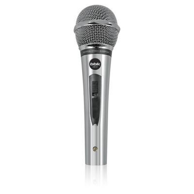 Микрофон BBK CM-131 серебристый 4м