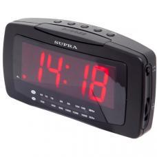 Радиобудильник SUPRA SA-28FM, черный