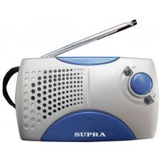 Радиоприемник SUPRA ST-113 серебро