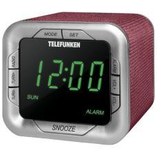 Радиоприемник Telefunken TF-1505 бордо/зеленый