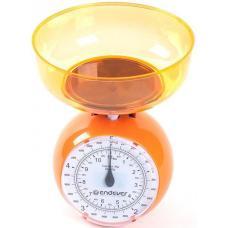 Весы кухонные Endever KS-518 оранжевый