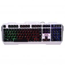 Клавиатура DEFENDER проводная игровая Metal Hunter GK-140L