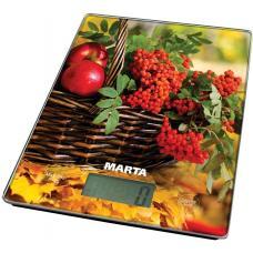 Весы кухонные Marta MT-1634 осенний день