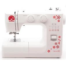 Швейная машина  JANOME Sakura 95 белый/цветы /Б