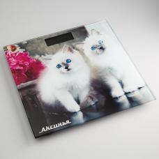 Весы напольные Аксинья KC-6003 Пушистые котята