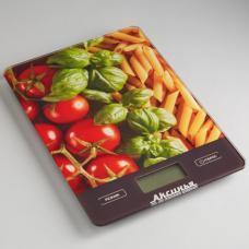Весы кухонные Аксинья КС-6500 Итальянская кухня